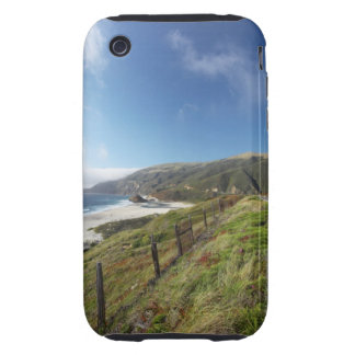 Big Sur perfection where the mountains roll iPhone 3 Tough Cases