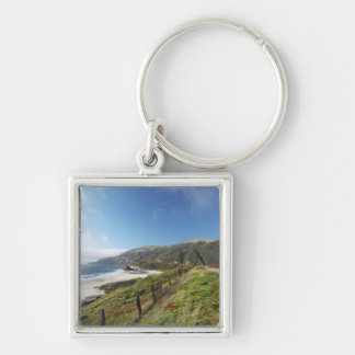 Big Sur perfection where the mountains roll Key Ring