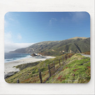 Big Sur perfection where the mountains roll Mouse Mat