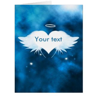 """Big Sympathy Card 8.5"""" x 11"""" - Angel of the Heart"""