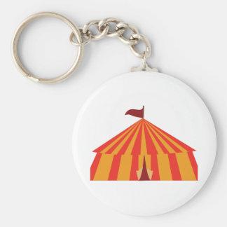 Big Tent Basic Round Button Keychain