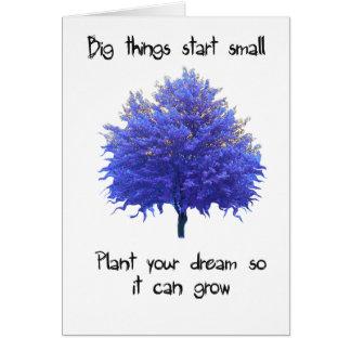 Big Things Start Small Card