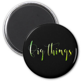 Big Thinks Event Blog Editorial Planner Greenly 6 Cm Round Magnet