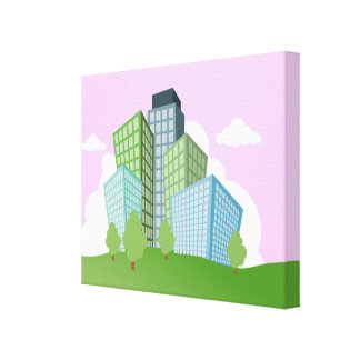 Big Time Corporation - Skyscraper Canvas Print
