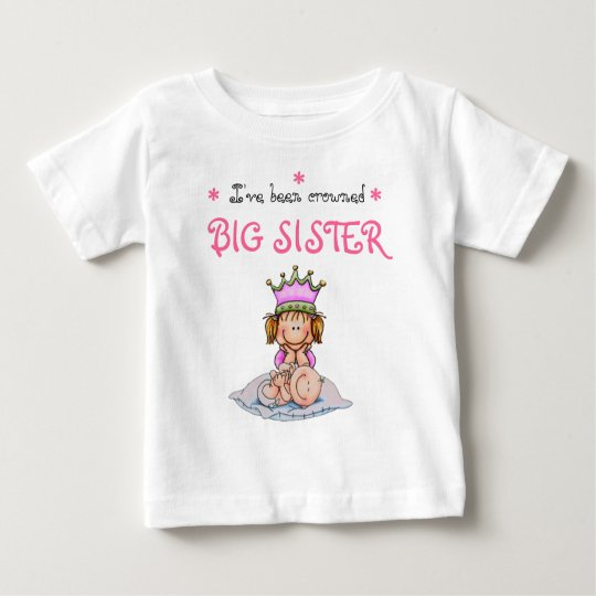big to sister crowned baby T-Shirt