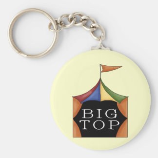 Big Top Circus Tent Keychains