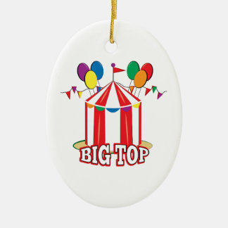 Big Top Tent Christmas Ornament