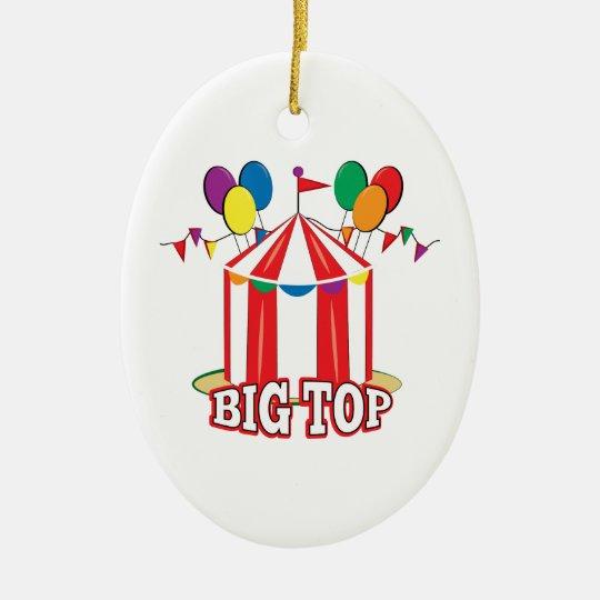 Big Top Tent Christmas Ornament