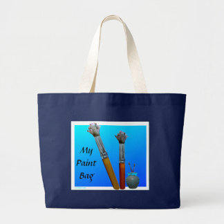Big Tote Painting Bag -Customise