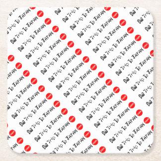 Big Trip To Japan Coaster Paper Square