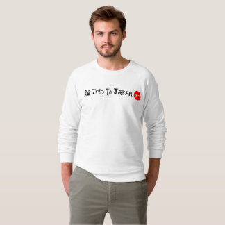 Big Trip To Japan Raglan Sweatshirt