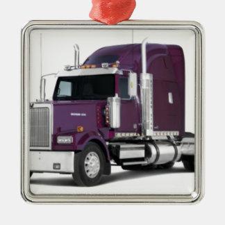 big truck christmas ornament