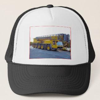 Big Truck Crane Trucker Hat