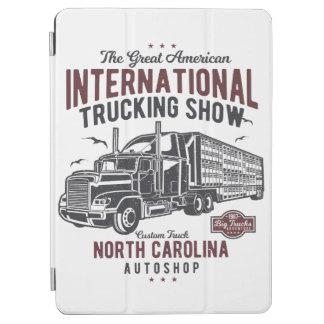 Big Truck Trucking Show North Carolina Auto Shop iPad Air Cover