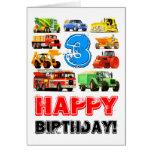 Big Trucks 3rd Birthday