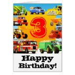 Big Trucks 3rd Birthday Party