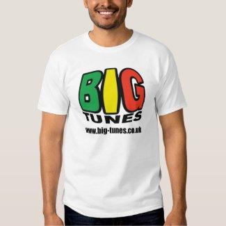 BIG TUNES Men's T-Shirt, White