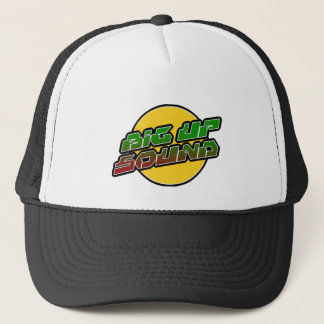 Big up Sound Dub Dubstep Reggae Trucker Hat