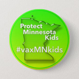 Big #vaxMNkids Button