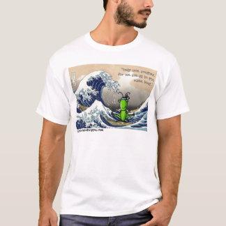 Big wave, little grasshopper T-Shirt