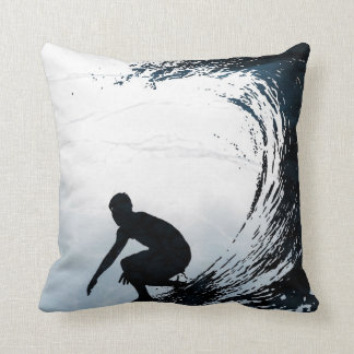Big Wave Surfer Cushion