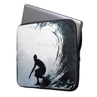 Big Wave Surfer Laptop Sleeve