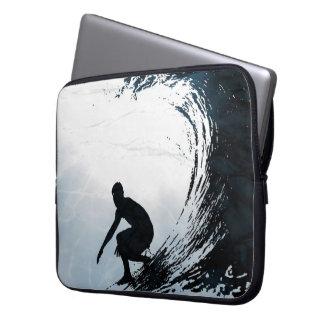 Big Wave Surfer Laptop Sleeves
