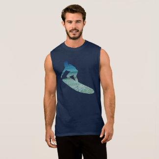 Big Wave Surfer Surfboarding Ocean Abstract TShirt