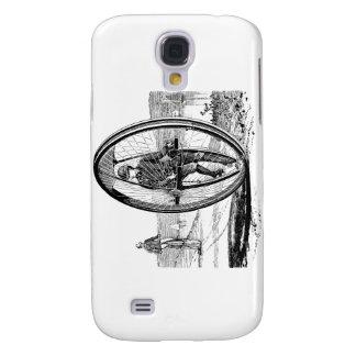 Big Wheel Cycle - Vintage Unicycle Bicycle Galaxy S4 Case