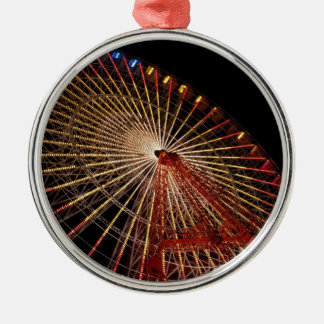 Big Wheel Funfair Night.jpg Christmas Ornament