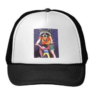 Big Wheel Raccoon Trucker Hat