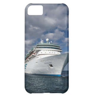 Big White Cruise Ship Case For iPhone 5C