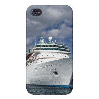 Big White Cruise Ship iPhone 4 Cover