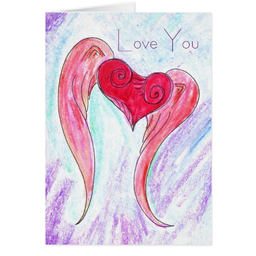 Big Winged Heart, Love You Card