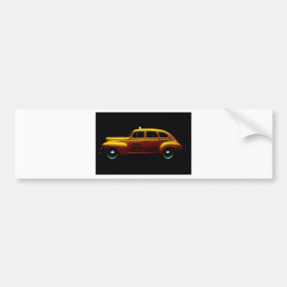 Big Yellow Cab Bumper Stickers