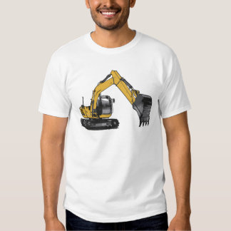 Big Yellow Excavator Tee Shirt