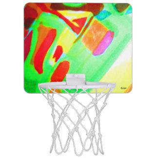 Big Yellow Mini Basketball Hoop