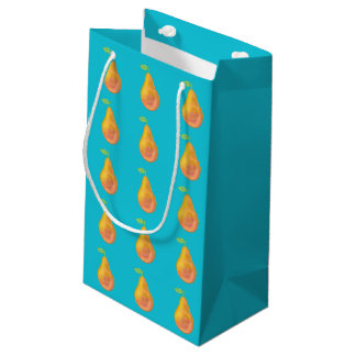 Big yellow pears small gift bag