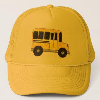 Big Yellow School Bus Driver Buses Teacher Hat