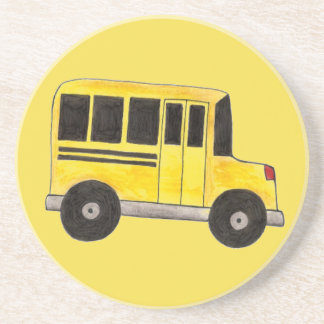 Big Yellow School Bus Education Teacher Bus Driver Coaster