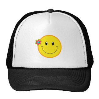 Big Yellow Smiley Face Cap
