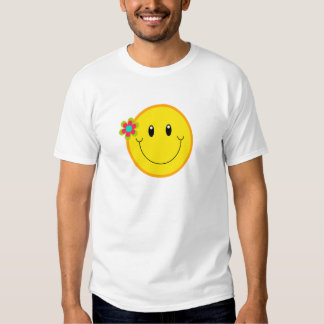 Big Yellow Smiley Face T Shirt