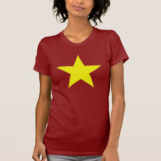 Big Yellow Star (womans fitting) T-Shirt