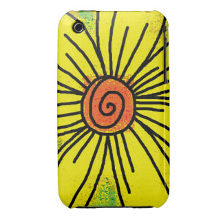 Big Yellow Sunflower Case-Mate iPhone 3 Cases