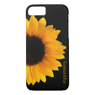 Big Yellow Sunflower iphone 7 Case