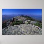 Bigelow Mountain Ridge Trail Maine Poster