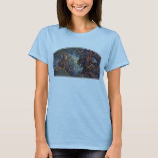 bigelow mural maxfield parrish T-Shirt
