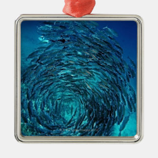 Bigeye trevally (Caranx sexfasciatus), swimming Christmas Ornament