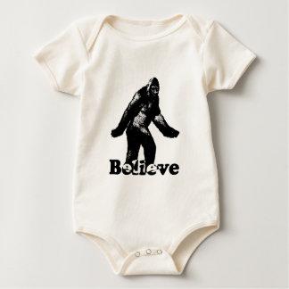 Bigfoot Believe Baby Bodysuit