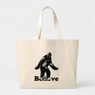 Bigfoot Believe Jumbo Tote Bag